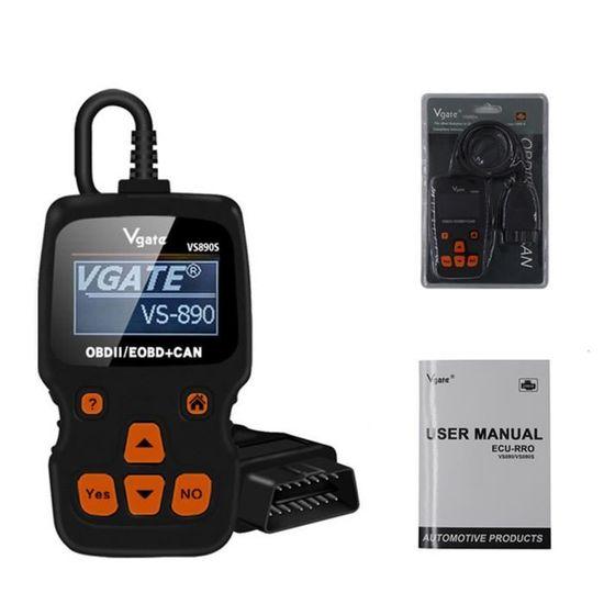 Vgate VS890 Multi Language Car Code Reader Auto Diagnostic Scanner OBD2