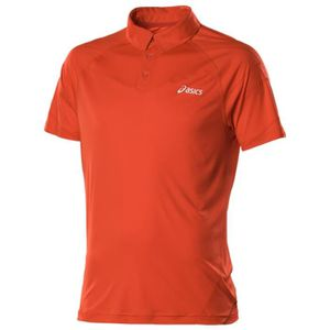 MAILLOT DE TENNIS ASICS Polo Tennis Manches Courtes Resolution Homme