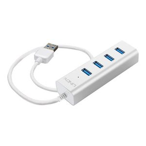 LINDY Hub USB 3.0 pour Notebook - 4 ports