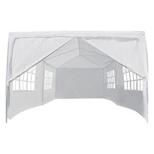 TONNELLE - BARNUM 3 x 6m Tente de mariage fête extérieure à baldaqui
