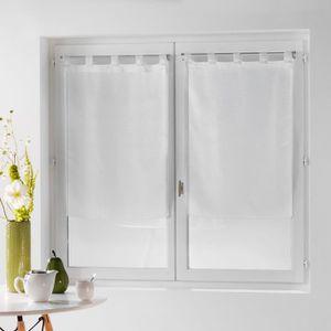 VOILAGE Une paire de rideau voilage 60 x 120 cm coupe dand