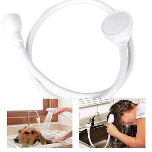 DOUCHETTE - FLEXIBLE Simple large robinet évier de bain pommeau de douc