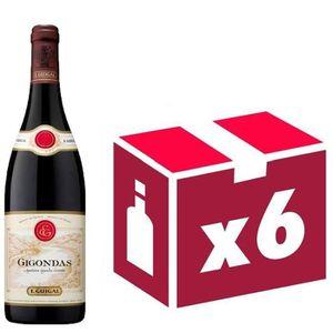 VIN ROUGE Gigondas vin rouge 6x75cl Guigal