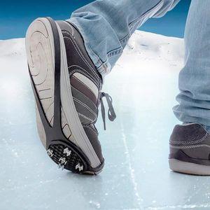 SOIN ORTHOPÉDIQUE Semelles anti glisses pour la glace - Crampon pour