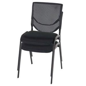 CHAISE Lot de 2 chaises de conférence / visiteur T401, em