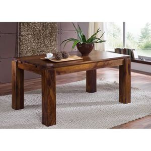 TABLE À MANGER SEULE Table à manger extensible 160-240x90 cm, 6 à 10 Pe