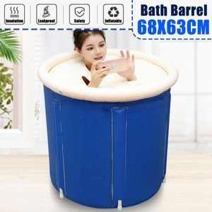 avec robinet et tuyau d/évacuation Draulic Baignoire pliable Bathtub Baignoire pliable SPA pour adulte Baignoire familiale Baignoire /épaisse en PVC