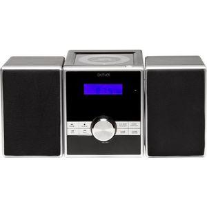 CHAINE HI-FI Chaîne hi-fi radio réveil FM stéréo horloge lecteu