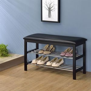 banc chaussures achat vente banc chaussures pas cher cdiscount. Black Bedroom Furniture Sets. Home Design Ideas