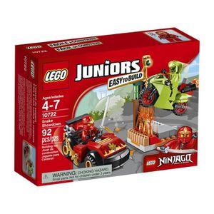 ASSEMBLAGE CONSTRUCTION LEGO Juniors Serpent Showdown 10722 Jouet pour 4 a