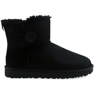 BOTTE Botte Ugg W Mini Bailey Button 2 Noir 1016422blk