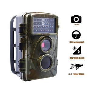 PIÈGE PHOTOGRAPHIQUE Caméra de Chasse HD 720P Caméra de Surveillance Ét