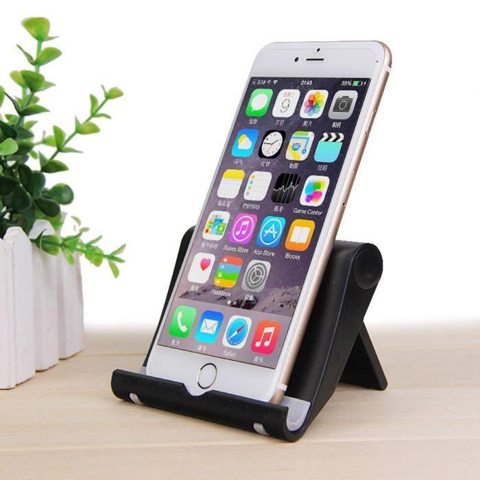 Support de support de berceau universel pour bureau de lit pour téléphone iPad Table BK sunnyer 2473