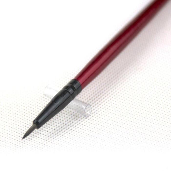 16 cm 1 Pc Professionnel Portable Eyeliner Eye Liner Brosse Fibre Synthétique Cheveux Maquillage Brosses Bea 16 cm