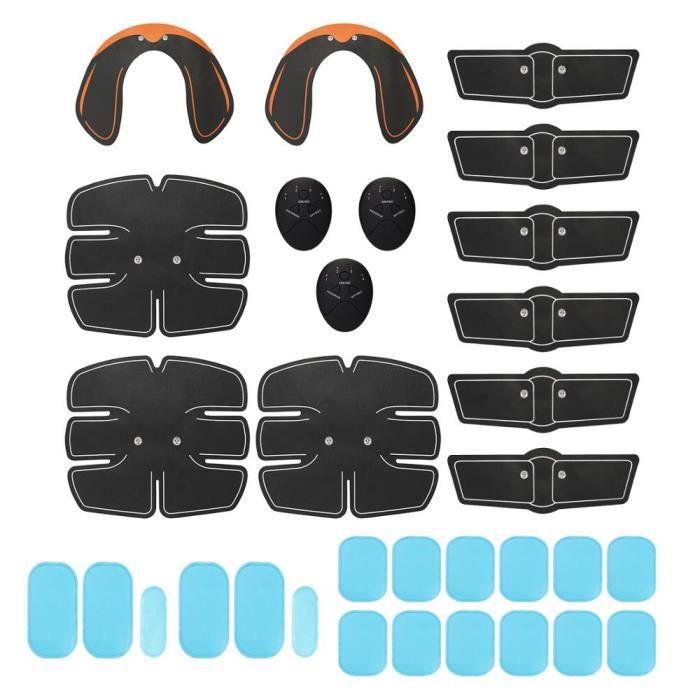 Stimulateur musculaire abdominale Muscle bras exercice corps minceur entraînement combustion de - Modèle: 32 PCS Set - HSJSZHA00796