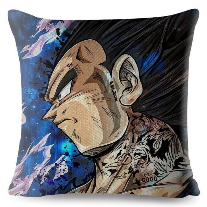 Housse de coussin,Housse de coussin pour canapé 45*45cm,Housse de coussin Goku,motif Dragon Ball,dessin - Type 3-450mm*450mm