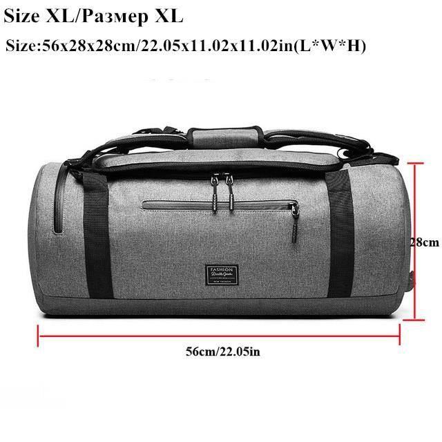 Sac et Bagage Sport,XC sac de Sport multifonction hommes sac de Sport de Sport femmes Fitness sac de - Type Size XL (Light Grey)