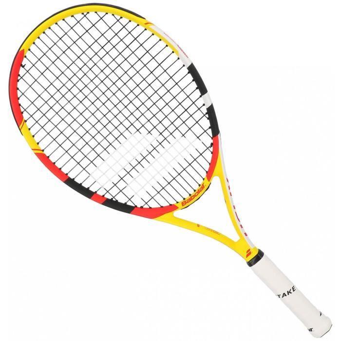 Raquette de tennis Helix 105 jaune rouge - Babolat SL3 Jaune