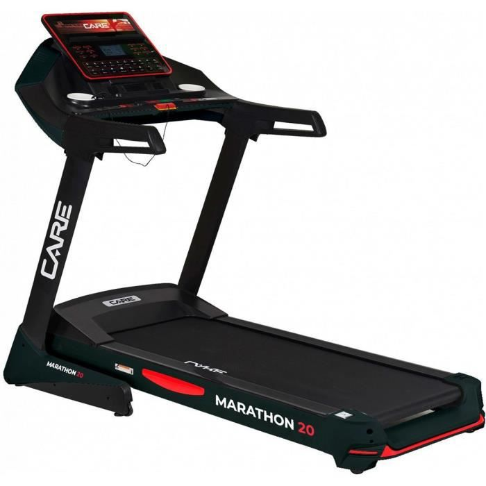 Tapis CARE MARATHON-20 km/h CARE CONNECT noir
