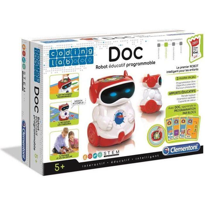 CLEMENTONI Robot - Doc, mon robot programmable - 5 ans et +