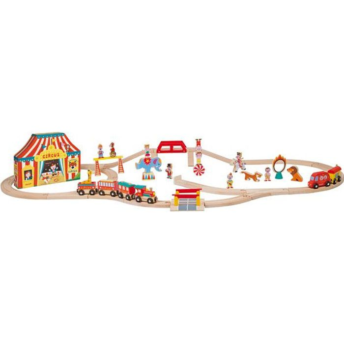 Story Expres Circus (19 pces + 1 train + circuit)