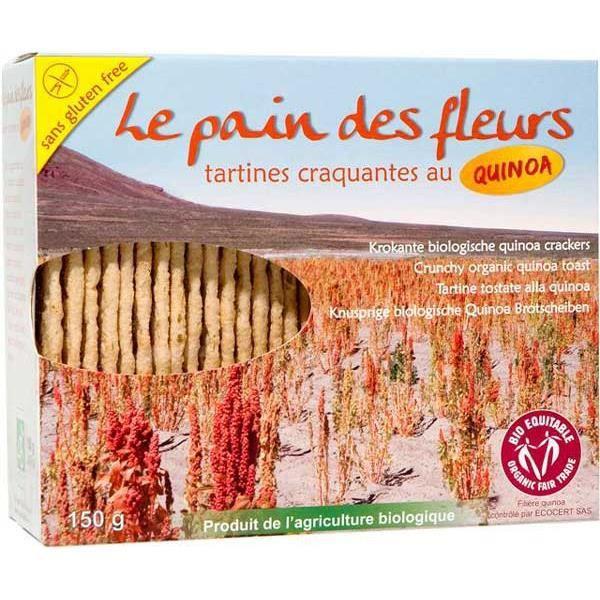Tartines craquantes au quinoa, 150 g