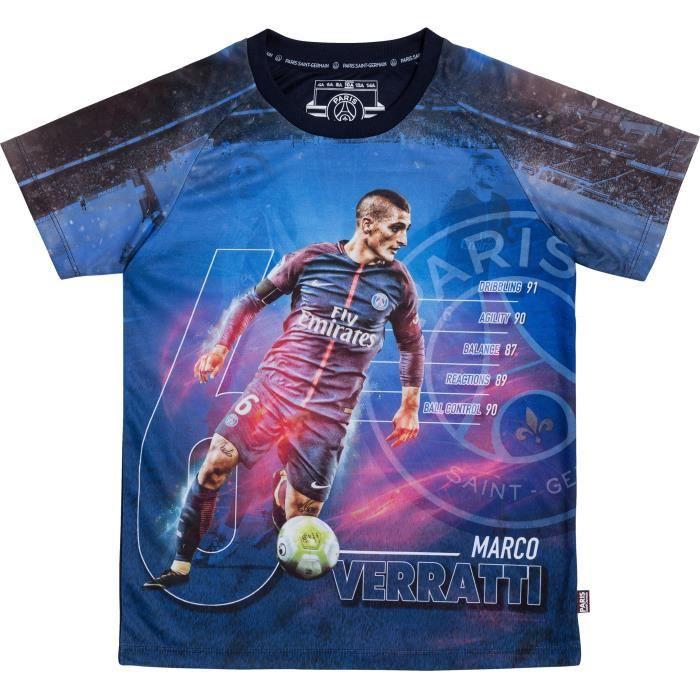 Maillot PSG - Marco VERRATTI - Collection officielle PARIS SAINT GERMAIN
