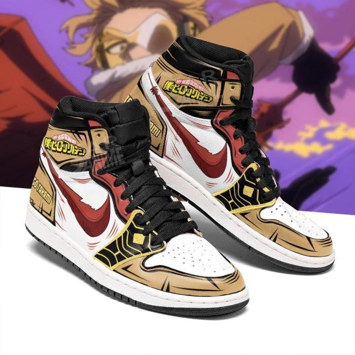 Baskets Anime My Hero Academia Keigo Takami Hawks Chaussures de course pour Homme Femme
