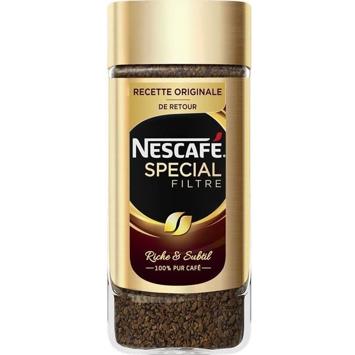 LOT DE 12 - NESCAFE : Spécial Filtre - Café soluble 100g