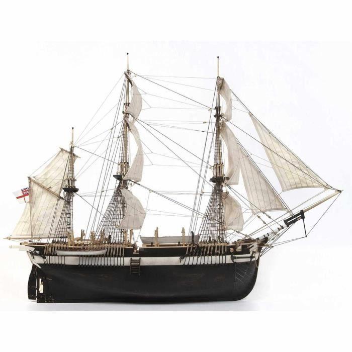 Maquette Bateau : Le HMS Terror aille Unique Coloris Unique
