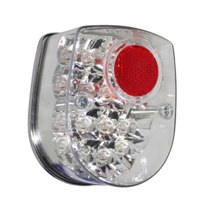 PHARES FEU AR CYCLO REPLAY TYPE HONDA DAX A LEDS TRANSPARENT **