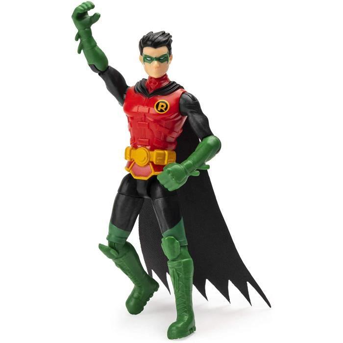 Batman Figurine ROBIN 4 pouces avec 3 accessoires Mystery