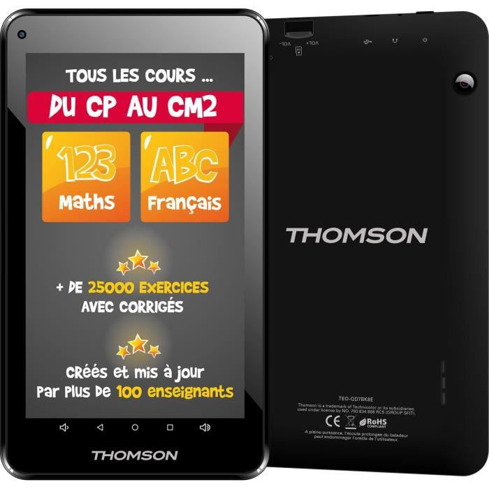 THOMSON Tablette Tactile TEO-QD7BK8E 7\