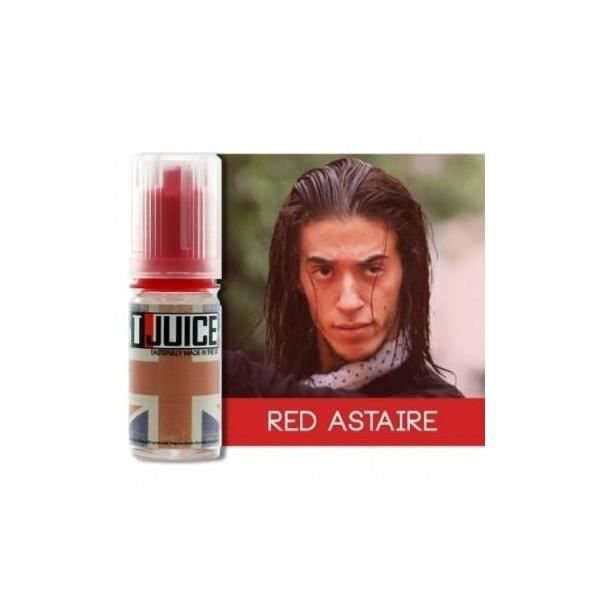 Lot 10 e-liquides T JUICE Red Astaire 10ml 6mg