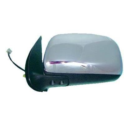 Rétroviseur gauche électrique pour TOYOTA HILUX PICK UP, 2006-2011, Chromé, Neuf.