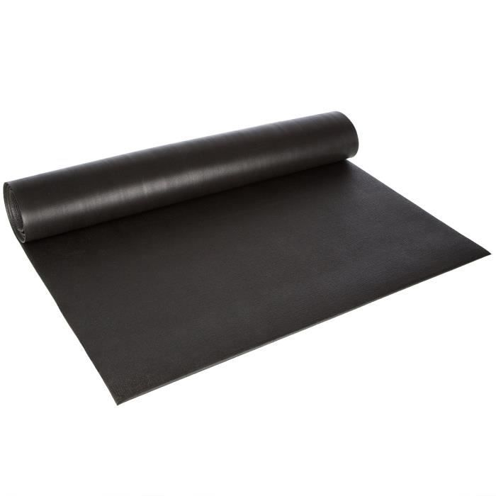 Ultrasport Tapis multifonction Fitness en 3 épaisseurs, tapis pour appareils de fitness, utilisable comme tapis de protection lor