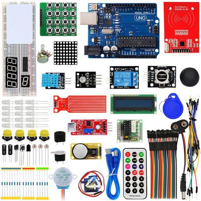 ViewTek KT0002 - Kit Arduino RFID d'apprentissage & débuttant - Arduino RFID Learning Kit