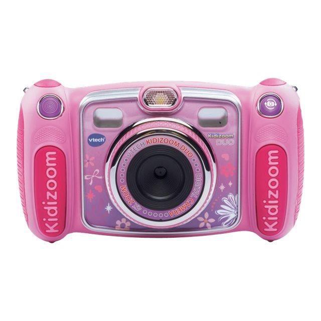 VTech KidiZoom Duo Appareil photo numérique compact avec lecteur numérique-enregistreur vocal 2.0 MP rose-80-170852