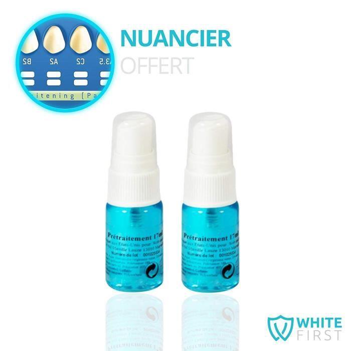 Lot de 2 spray anti tache pour completer un kit blanchiment dentaire – Spray nettoyant efficace pour traitement anti tache