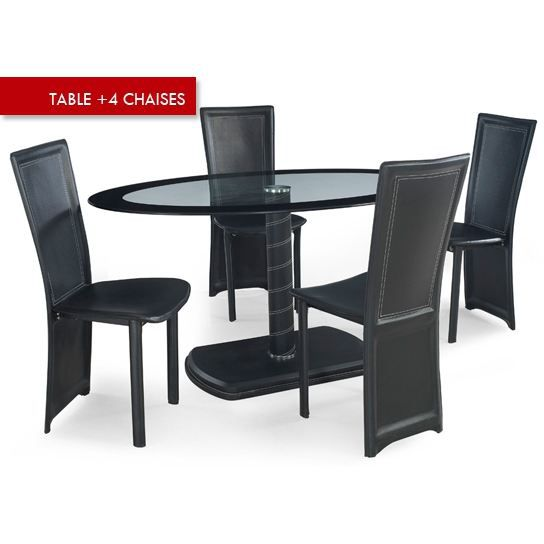 Table manger 4 chaises terra table a mange achat vente table manger table manger 4 for Quelle chaise pour table en verre