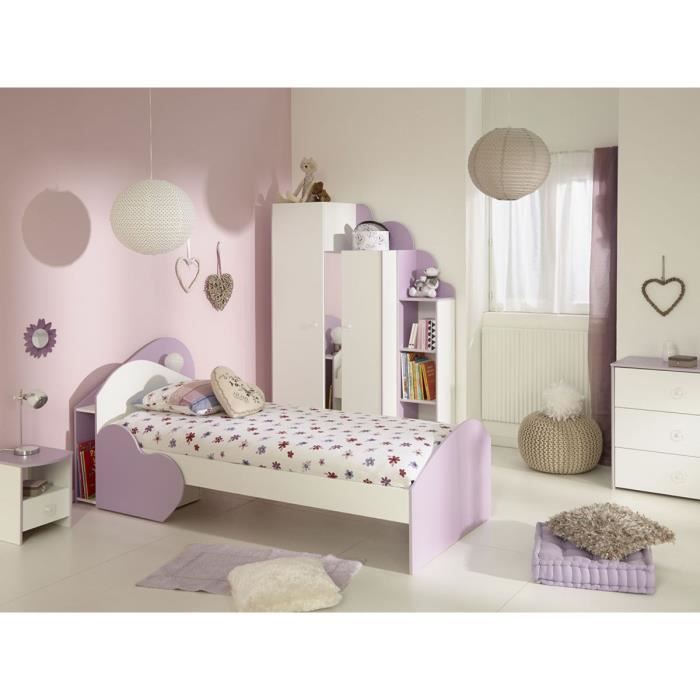 lit simple enfant butterfly 90 x 190 200 cm achat vente structure de lit lit simple enfant. Black Bedroom Furniture Sets. Home Design Ideas