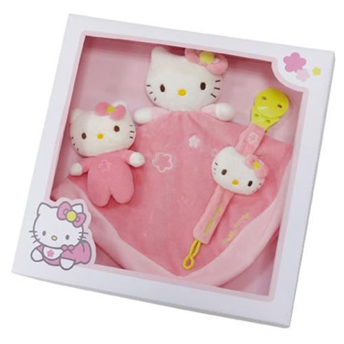 coffret doudou hello kitty rose achat vente coffret cadeau jouet 3298060220521 soldes d. Black Bedroom Furniture Sets. Home Design Ideas