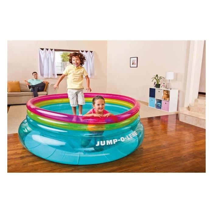 trampoline jump o lene intex interieur exterieur achat. Black Bedroom Furniture Sets. Home Design Ideas