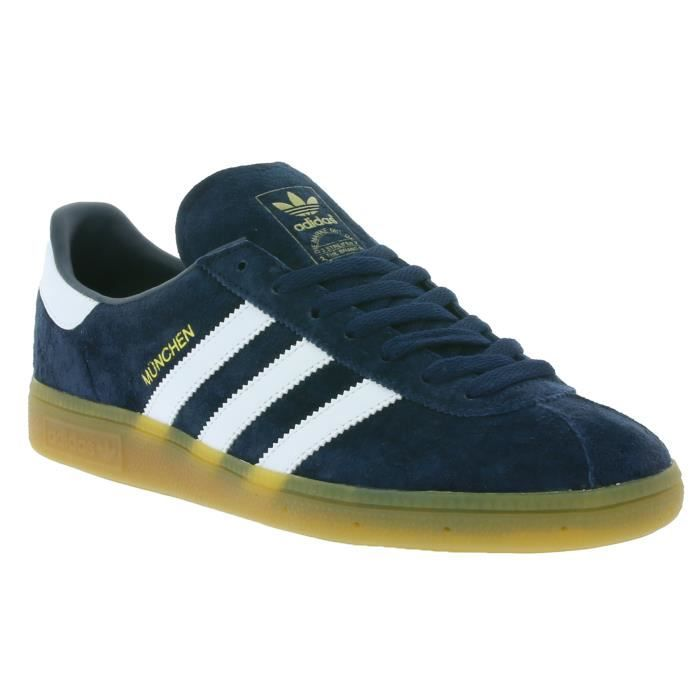Adidas Originals München Hommes baskets bleu BB5297 Bleu