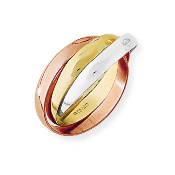 bague en or 3 couleur