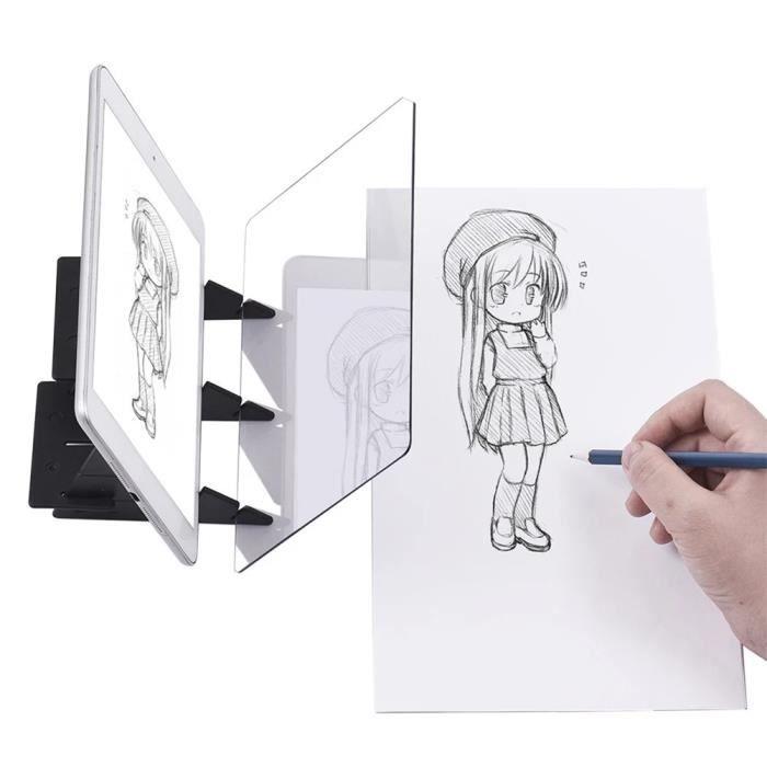 Planche à Dessin Pour La Peinture Optique Trousse à Outils De Dessin Multifonctionnelle Trousse De Dessin à Dessiner