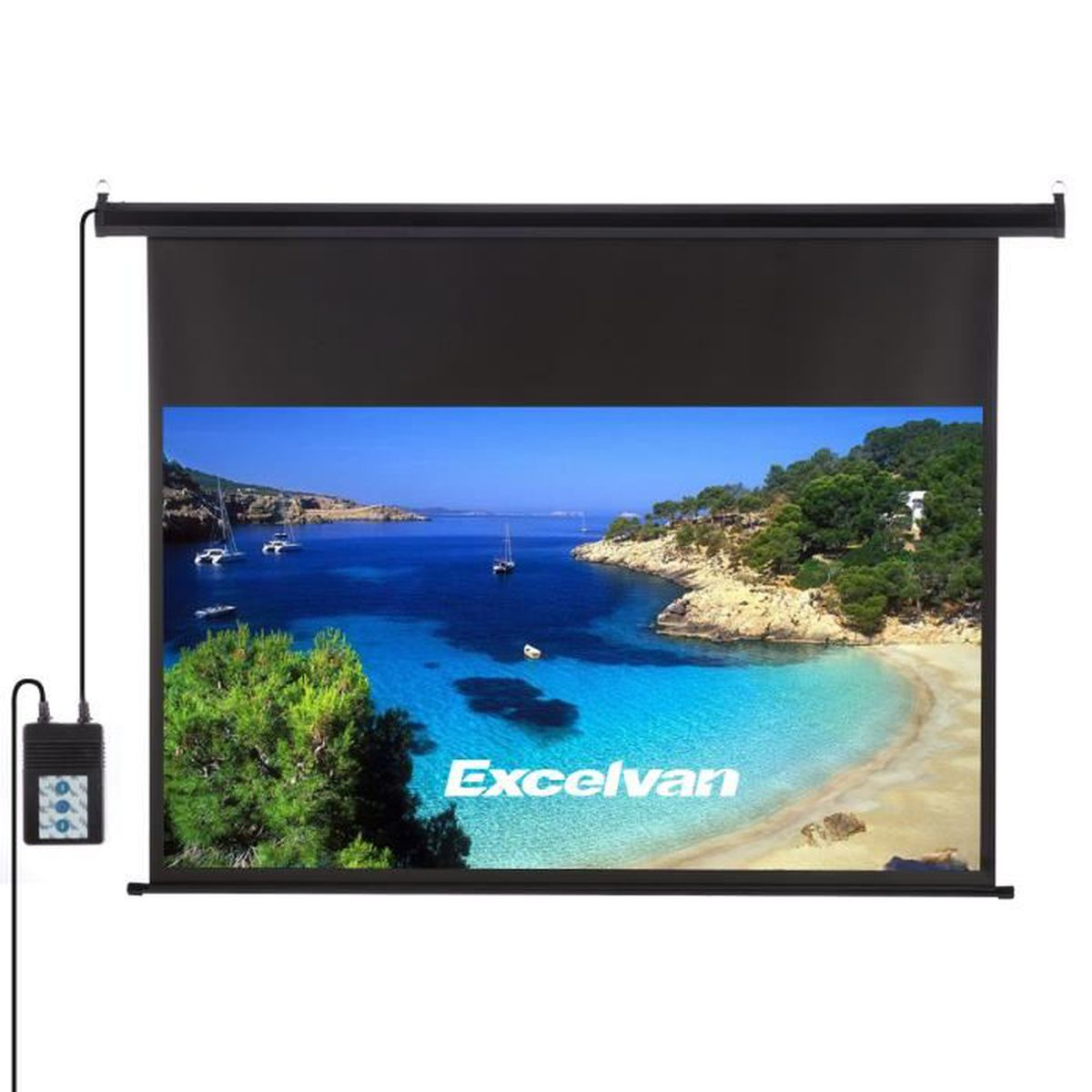 Gain Ecran De Projection excelvan 120 pouces 16: 9 1.2 gain Écran de projection hd