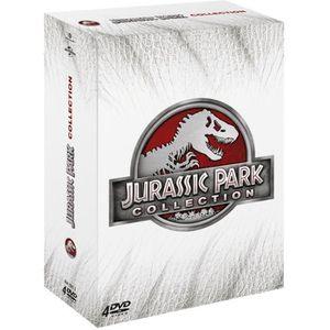 DVD FILM DVD Coffret Jurassic Park - Coffret 4 DVD