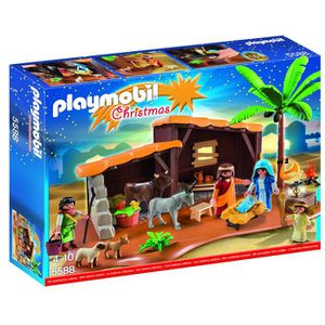 PARTITION Stable Playmobil Nativité avec Mangeoire Play Set