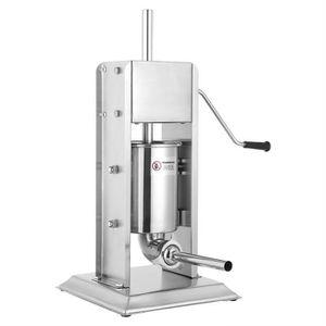 POUSSOIR À SAUCISSES CESAR 3L Machine de saucisse de bourrelet inox